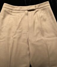 Apostrophe Beige Size 42/USA 8 Wool/Cashmere Work Dress Slacks