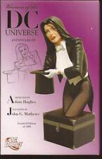 DC Direct Women Of The DC Universe Zatanna Hand Painted Cold Cast Porcelain Bust