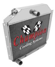1951 - 1957 International Harvester Truck 3 Row Champion ADV Aluminum Radiator