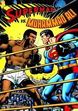SUPERMAN VS MUHAMMAD ALI COMIC WALL POSTER (SZ: A4 A3 A2 A1 A0)