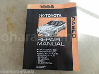 1998 Toyota PASEO Service Manual OEM