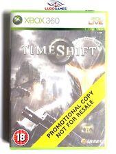 TimeShift Xbox 360 Nuevo Precintado Promo Sealed Retro Brand New PAL/EUR