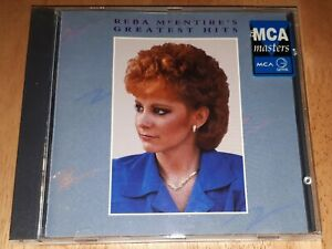 REBA MCENTIRE'S GREATEST HITS CD 1987 country