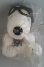 Singapore Airlines SQ SIA Limited Edition Peanuts Snoopy Pilot Plush Toy
