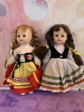 Lot Vintage Dolls Ethnic-Symbol of quality-vinyl plastic countries International