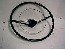 1955 1956 CHEVROLET STEERING WHEEL WITH CHROME HORN RING L@@K!!