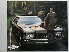Prospekt 1971 Chevrolet Caprice / Impala / Bel Air, 1971, 20 Seiten, english