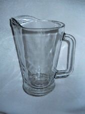 New listing Beer Pitcher Glass 60 Ounce Libbey Heavy Commercial Thickness & Strength