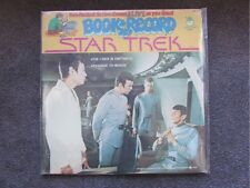 "STAR TREK ORIGINAL 12"" 33 LP RECORD AND BOOK SET OF STORIES FOR CHILDREN"