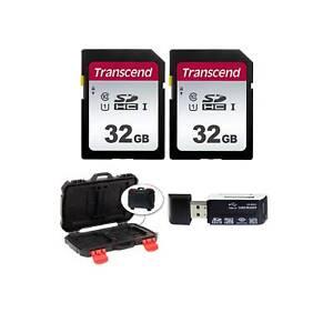 Transcend TS32GSDC300S 32GB UHS-I U1 SD Memory Cards +