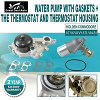 WATER PUMP THERMOSTAT 5.7L V8 FOR HOLDEN COMMODORE VT VX VU VY VZ LS1 SS GEN3