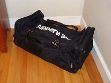 "Tupperware Rolling Kit Bag Consultant Logo Award 29"" x 15"" x12"" Black White New"