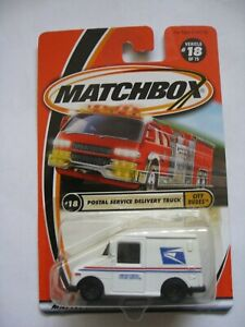 MATCHBOX POSTAL SERVICE DELIVERY TRUCK  #18 OF 75 FROM 2000
