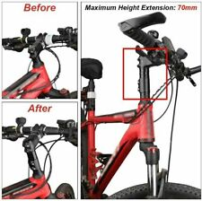 Pair extensions Appendices yellow handlebar MTB bike City Bike Bicycle