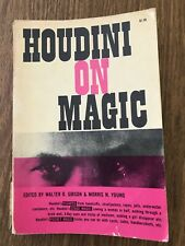New ListingMagic Book - Houdini On Magic