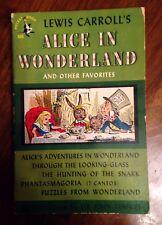Alice in Wonderland: Lewis Carroll: Pocket Books 1st/2nd paperback Illustrated