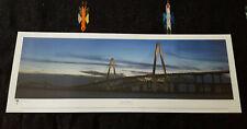 2005 Vista Art Bill Lorick Harbor Bridge Charleston South Carolina Print