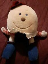 Humpty Dumpty Plush Toy 1993 Vtg