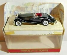 MATCHBOX MODELS OF YESTERYEAR 1:45 SCALE 1938 MERCEDES-BENZ 540K - Y-20 - BOXED
