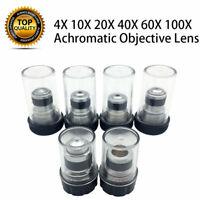 Achromatisches Mikroskop Objektiv Mikroskop Objektivlinse 4X-100X