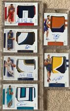 2019-20 Panini National Treasures RC Patch (3 Color) Auto (RPA) 6 Card Lot