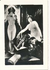 Nr,31828  kleines Akt Foto schöne nackte Frau Busen Erotik 6 x 8,5 cm  um 1945