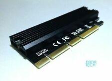 M.2 Ngff Pcie Ssd M Key Pcie Gen 3 x16 Adapter *Apple Mac Pro 3,1-5,1 *Ahci Nvme