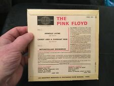 """MINT- 1967 FRENCH 7"""" Arnold Layne INTERSTELLAR OVERDRIVE The Pink Floyd EP + 2"""