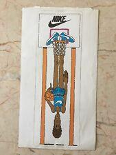 Vtg Retro 1970s 70s NIKE Swoosh Sneaker Advertising Sticker Basketball Shoes Lrg