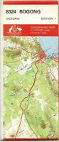 Bogong (VIC)  8324  Victoria Natmap Topographic Map  brand new