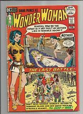 WONDER WOMAN #198  VF+  VERY FINE+  WHITE PAGES DC BRONZE AGE COMIC 1972