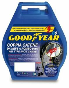 """Goodyear 77901 """"G9"""", 9 mm car snow chains, TUV and ONORM approved, size 030"""