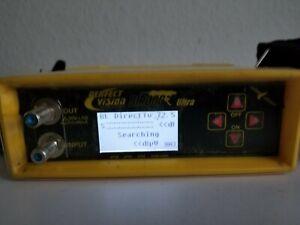 Birdog Ultra Perfect Vision Satellite Signal Meter DirecTV DISH FTA