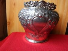 CACHE POT SHEFFIELD BOARDMAN ET GLOSSOP VERS 1870