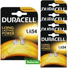 Alkaline 1.5 V LR1130/LR54 Single Use Batteries