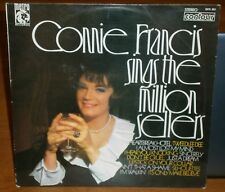 CONNIE FRANCIS - SINGS THE MILLION SELLERS - 1959 2870 383 VINYL LP ALBUM RECORD