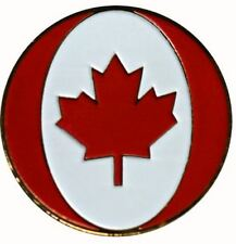 Canadian Maple Leaf Golf Ball Marker with Matching Hat Clip