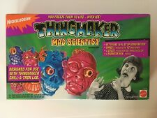 Mattel Nickelodeon Thingmaker Mad Scientist Accessory Pack Monster Creatures Vtg