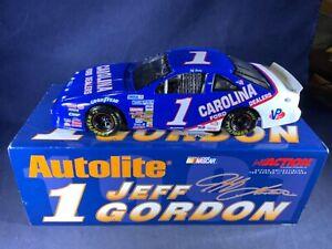U5-13 JEFF GORDON #1 AUTOLITE / CAROLINA FORD DEALERS - 1989 FORD THUNDERBIRD