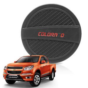 Tank Cover Fuel Oil Cap Matte Black 1 Pc For Chevrolet Holden Colorado 2014 - 17