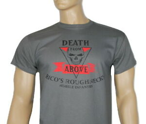 Battlestar Galactica TV inspired mens t-shirt- Death From Above