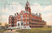 1909 St. Paul Sanitarium Dallas TX post card Tuck