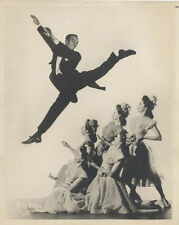 ORIGINAL PHOTOGRAPH OF COSTUMED DANCERS ON STAGE IN A SCENE