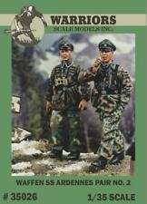 Warriors 1:35 Waffen SS Ardennes Pair No.2 - 2 Resin Figures Kit #35026