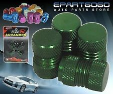 Aluminum Green Anodized Wheel Valve Stem Valve Caps For Mazda Cars Tires/Rims