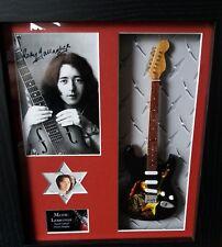Rory Gallagher Framed Tribute Guitar & Plectrum Presentation
