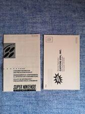 Flyer Inserti Pubblicitari Demon Crest Ntsc Usa/canada  Capcom Nintendo