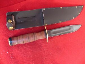 J. Adams Sheffield England SHE005 Israeli Commando Knife new fixed blade knife