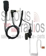 NEW PRYME SPM-1363 2 WIRE SURVEILLANCE HEADSET TC-320 TC320 MOTOROLA TALKABOUT