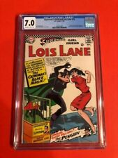 Superman's Girlfriend Lois Lane #70 CGC 7.0 First Silver age catwoman!
